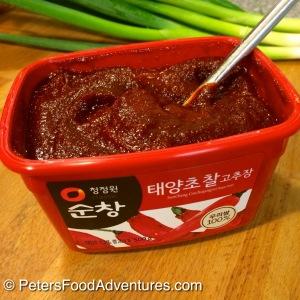 Raw Fermented Kimchi Gochujang Paste