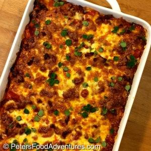 My new favourite Lasagna! A delicious and modern twist on classic lasagne. It's the perfect Italian comfort food! Chorizo and Ricotta Lasagna Recipe