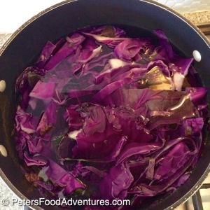 Red Cabbage for naturally dyed Easter eggs