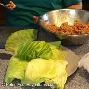 Cabbage Rolls Preparation