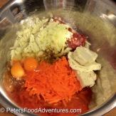 Kangaroo Kotleti in a Creamy Mushroom Sauce ingredients