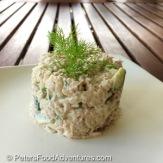 Russian Tuna Salad Recipe (рыбный салат)