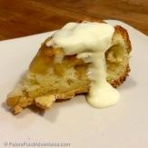 Apple Sharlotka Cake (Шарлотка) Piece of Cake