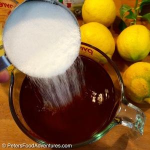 Sweet Lemon Iced Tea Brewed Tea