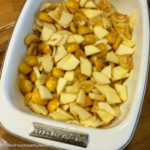 Loquat Apple Crumble Recipe