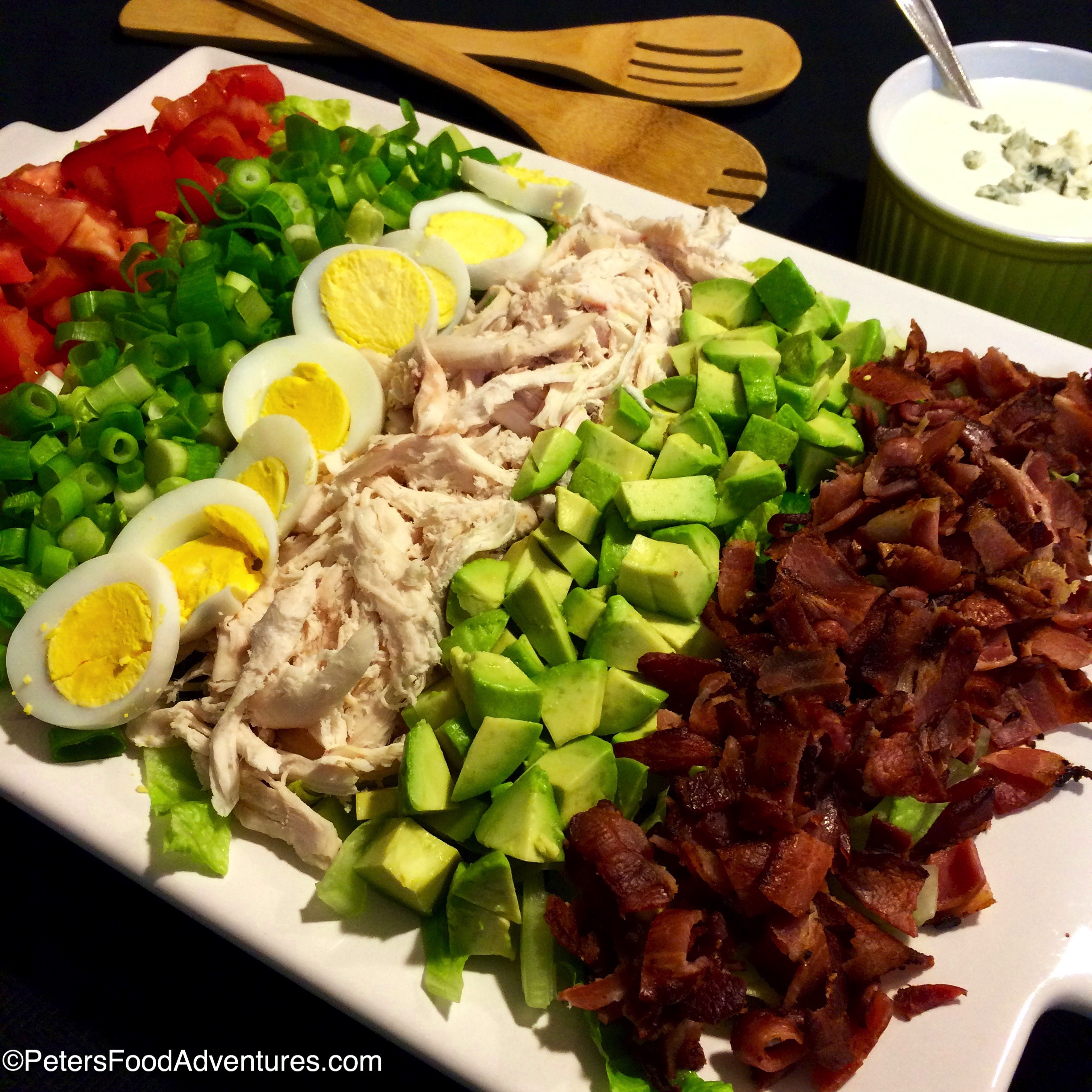 Cobb Salad Recipe – The Un-Salad | PetersFoodAdventures