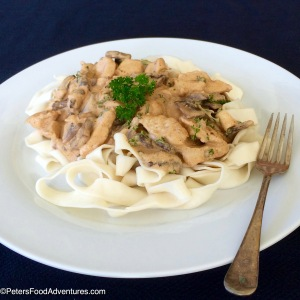 Authentic & Delicious! This is the best Chicken Stroganoff recipe. Like beef stroganoff, only chicken!