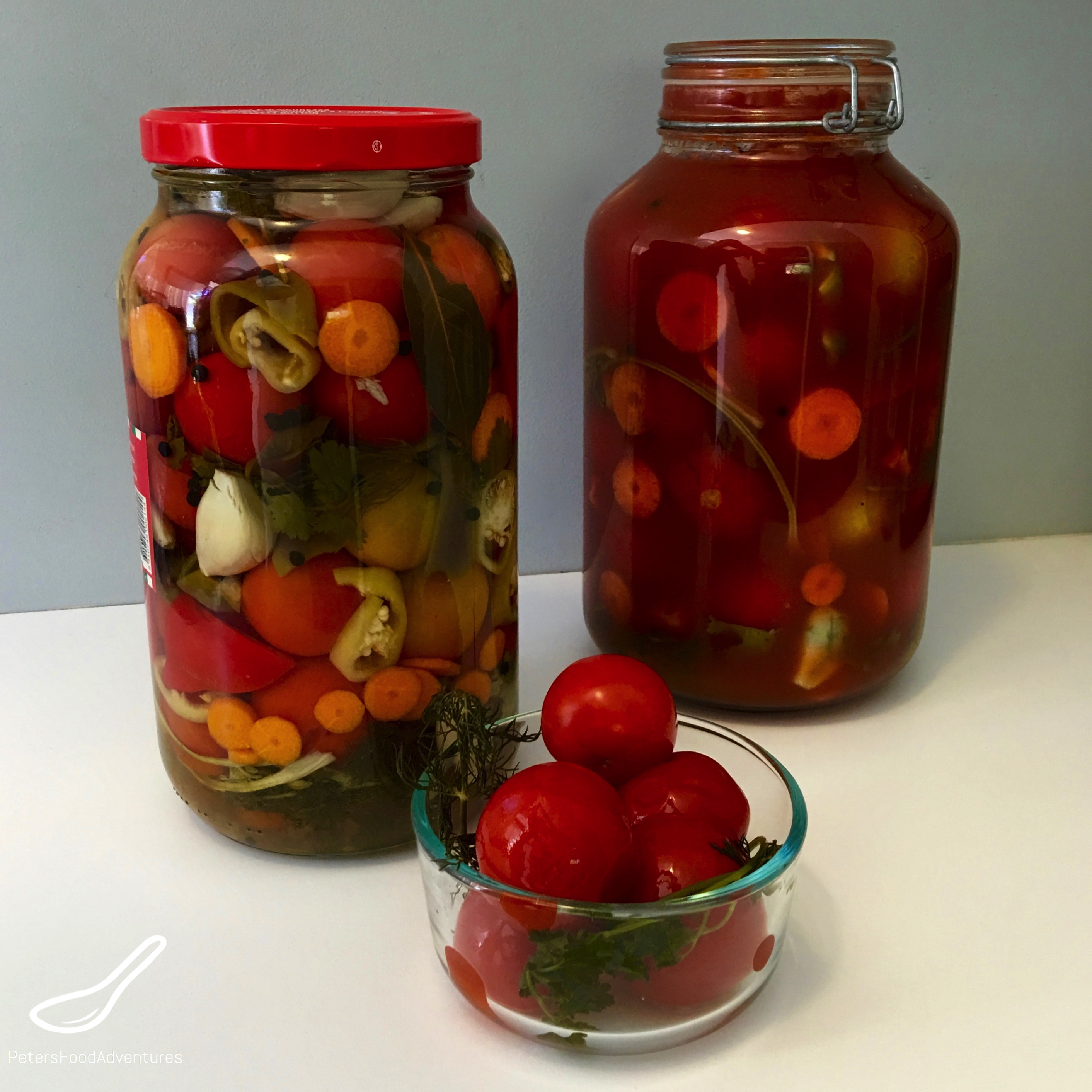 Pickled tomatoes for the winter: 7 very tasty recipes for sweet pickled tomatoes