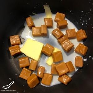 Caramel Rice Krispies Squares