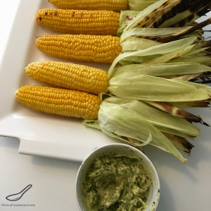 BBQ Corn on the Cob with Fresh Herb Butter