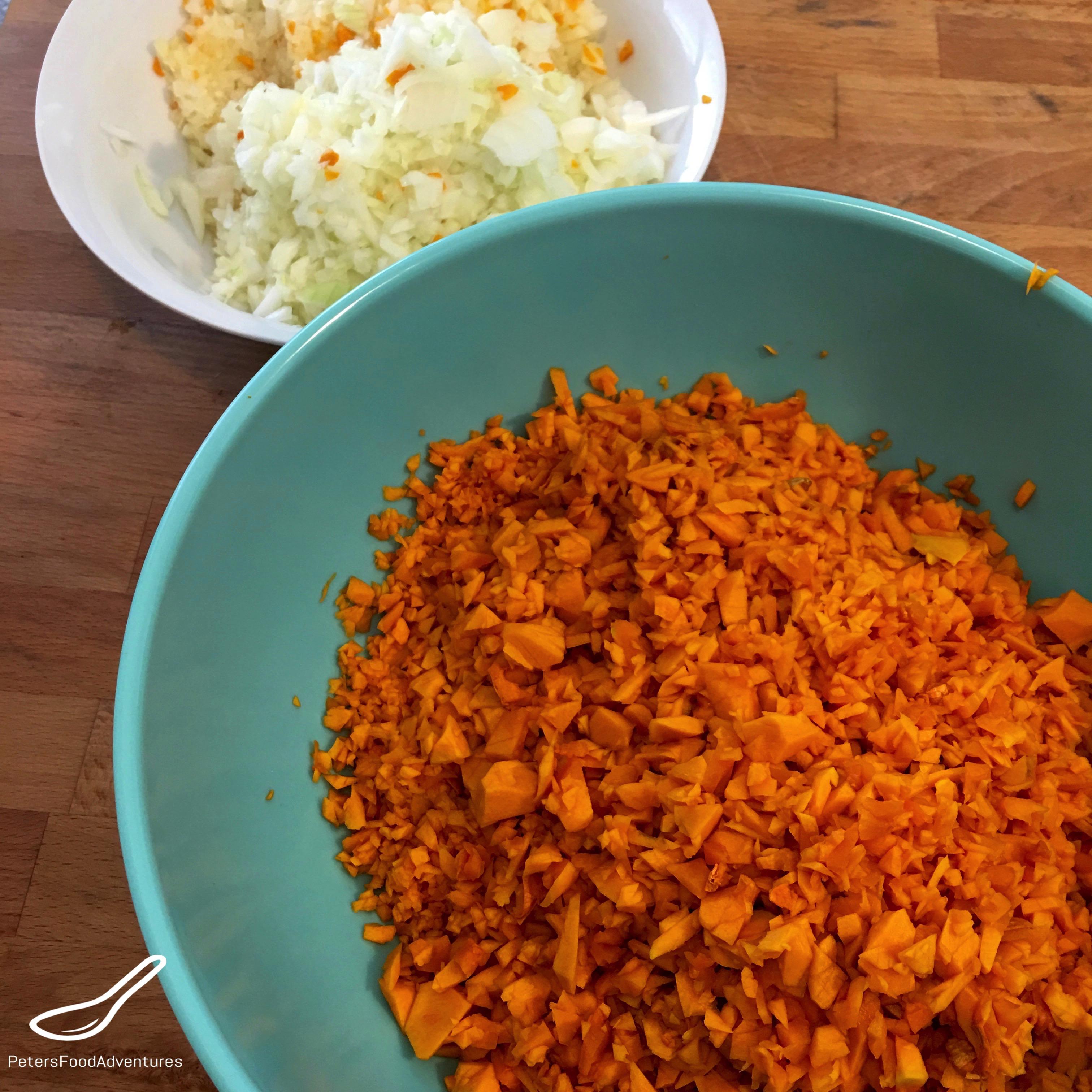 Manti Steamed Dumplings (Манты) pumpkin pieces