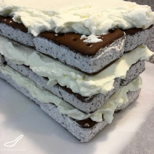 No Cool Whip Ice Cream Sandwich Cake
