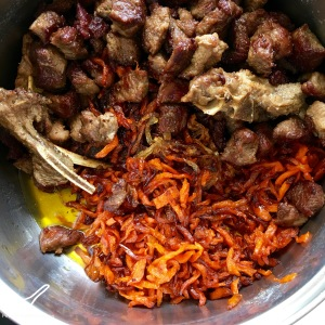 Palava Recipe or Plov (Плов) fried meat